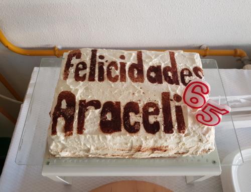 Celebración de la jubilación de nuestra compañera Araceli
